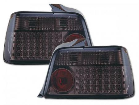 Led Rückleuchten BMW 3er Limousine Typ E36 Bj. 91-98 schwarz