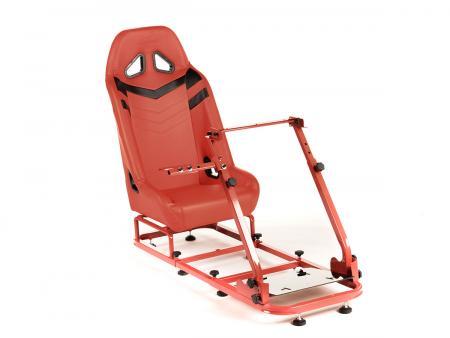 FK Gamesitz Spielsitz Rennsimulator eGaming Seats Monza rot/schwarz