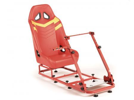 FK Gamesitz Spielsitz Rennsimulator eGaming Seats Monza rot/gelb