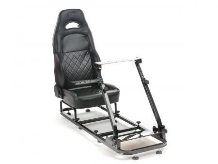 FK Gamesitz Spielsitz Rennsimulator eGaming Seats Silverstone schwarz