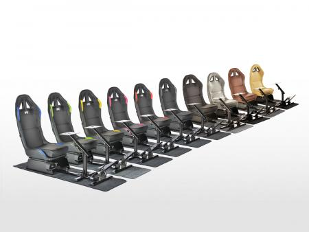 FK game seat game seat racing simulator eGaming Seats Suzuka in artificial leather with carpet [different colors]