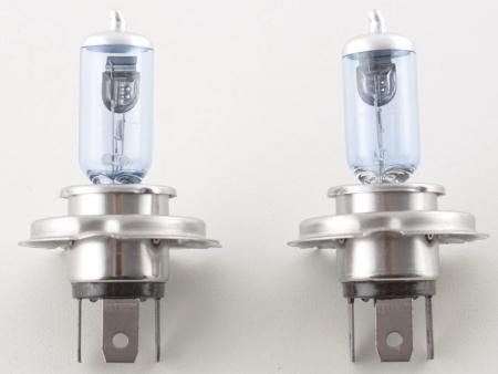 Halogen bulb Set (2 piece) universal H4 12V/60/55W superwhite