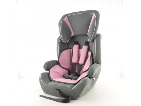 tuning shop kinderautositz kindersitz autositz grau rosa. Black Bedroom Furniture Sets. Home Design Ideas