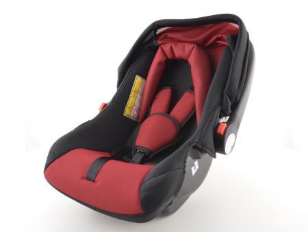 Kinderautositz Babyschale Autositz schwarz/rot Gruppe 0+, 0-13 kg
