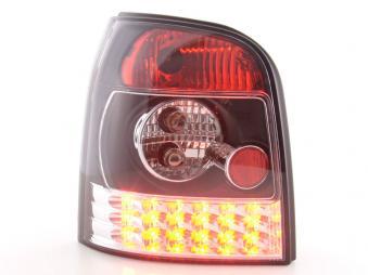 LED Rückleuchten Heckleuchten Set Audi A4 Avant Typ B5  95-00 schwarz