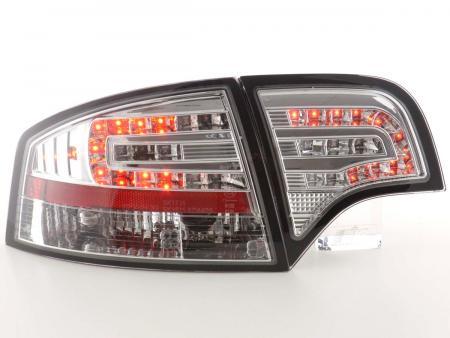 LED Rückleuchten Heckleuchten Set Audi A4 Limousine Typ 8E B7 04-07 chrom