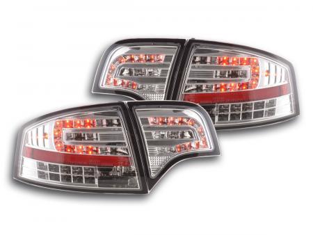 LED Rückleuchten Heckleuchten Set Audi A4 8E B7 Limousine 04-07 chrom