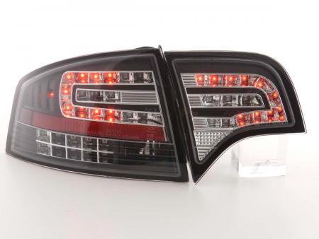 LED Rückleuchten Heckleuchten Audi A4 8E B7 Limousine 04-07 schwarz