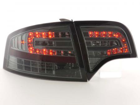 LED Rückleuchten Heckleuchten Audi A4 Limousine Typ 8E B7 04-07 schwarz