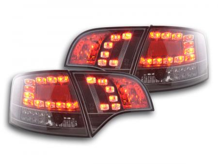LED Rückleuchten Heckleuchten Set Audi A4 8E B7 Avant 04-08 schwarz