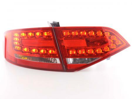 Led Rückleuchten Heckleuchten Audi A4 Typ 8K Limousine 07-11 rot/klar
