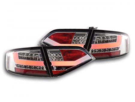 LED Rückleuchten Heckleuchten Set Audi A4 B8 8K Limo 07-11 chrom