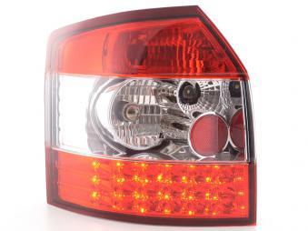 LED Rückleuchten Heckleuchten Set Audi A4 Avant 8E Avant 01-04 klar/rot