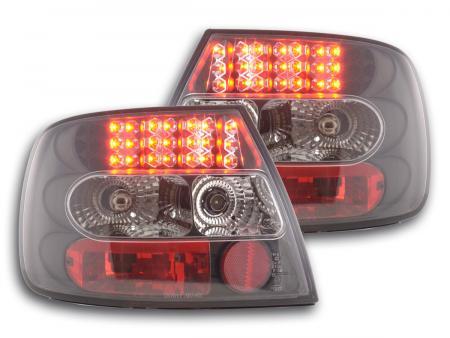 LED Rückleuchten Heckleuchten Set  Audi A4 Limousine Typ B5  95-00 schwarz