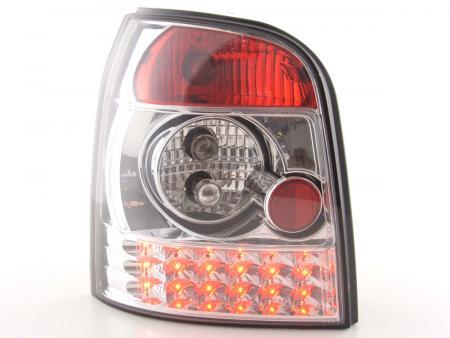 LED Rückleuchten Heckleuchten Set Audi A4 Avant Typ B5 95-00 chrom