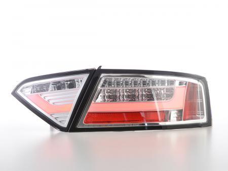 LED Rückleuchten Set Lightbar Audi A5 8T Coupe/Sportback Bj. 07-11 chrom