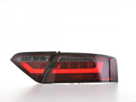LED Rückleuchten Set Lightbar Audi A5 8T Coupe/Sportback Bj. 07-11 rot/schwarz