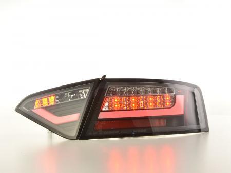 LED feux arrières Lightbar Audi A5 8T Coupe/Sportback année 07-11 noir