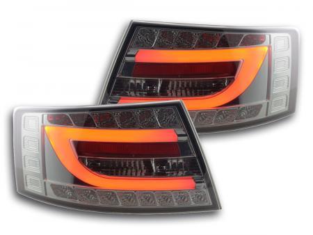 LED Rückleuchten Set Audi A6 Limo (4F) Bj. 04-08 schwarz