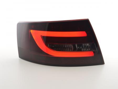 LED Rückleuchten Set Audi A6 Limo (4F) Bj. 04-08 rot/schwarz