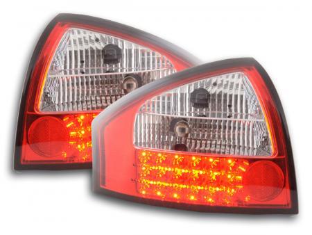 LED Rückleuchten Set Audi A6 Limousine Typ 4B Bj. 97-03 klar/rot