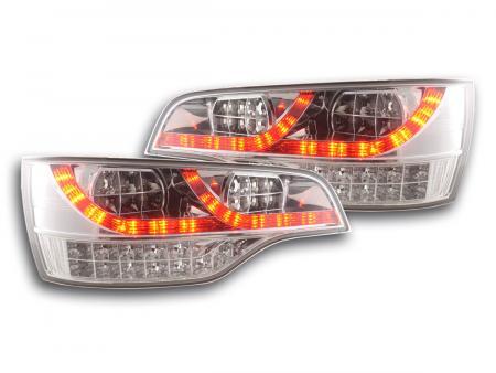 LED Rückleuchten Heckleuchten Set Audi Q7 Typ 4L 06 - 15 chrom