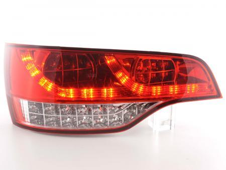LED Rückleuchten Set Audi Q7 4L Bj. 06- rot/klar