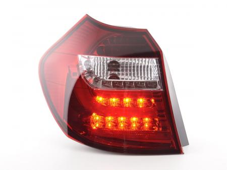 LED Rückleuchten Set BMW 1er E87/E81 3/5-trg. Bj. 04-06 klar/rot