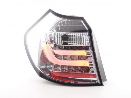 LED Lightbar Rückleuchten Set BMW 1er E87/E81 3/5-trg. Bj. 07-11 chrom