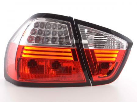 LED Rückleuchten Set BMW 3er Limousine Typ E90 Bj. 05-08 klar/rot
