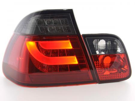 LED Rückleuchten Set BMW 3er E46 Limo Bj. 98-01 rot/schwarz