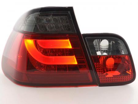 LED Rückleuchten Set BMW 3er E46 Limo Bj. 02-05 rot/schwarz
