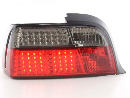 Led Rückleuchten BMW 3er E36 Coupe rot/schwarz