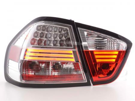 LED Rückleuchten Set BMW 3er E90 Limousine Bj. 05-08 chrom