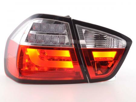 LED Rückleuchten Set BMW 3er E90 Limo Bj. 05-08 rot/klar