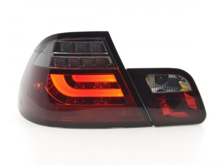LED Rückleuchten Set BMW 3er E46 Coupe Bj. 99-03 rot/schwarz