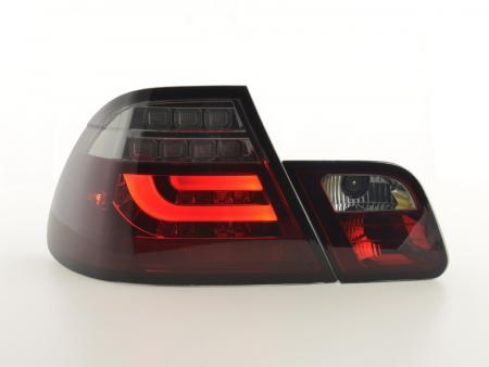 LED Rückleuchten Set BMW 3er E46 Coupe Bj. 03-07 rot/schwarz