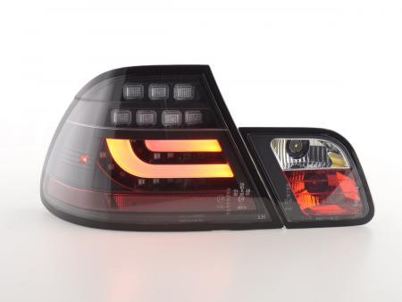 LED Rückleuchten Set BMW 3er E46 Coupe Bj. 03-07 schwarz