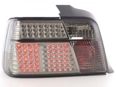 LED Rückleuchten Set BMW 3er Limousine Typ E36 Bj. 91-98 schwarz/rot