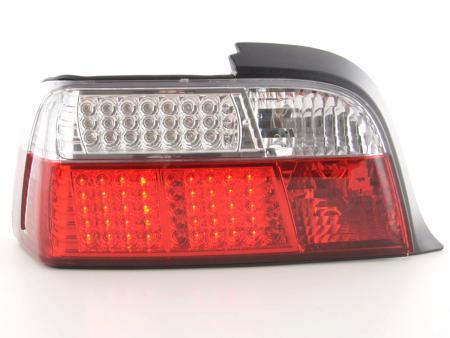 Led Rückleuchten BMW 3er Coupe Typ E36 Bj. 91-98 rot/weiß