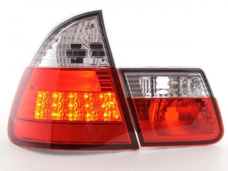 LED Rückleuchten Set BMW 3er Touring Typ E46 Bj. 98-05 klar/rot
