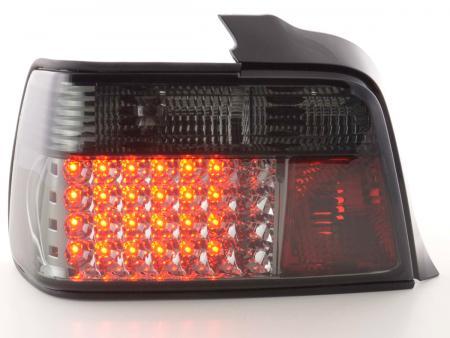 LED Rückleuchten Set BMW 3er Limousine Typ E36 Bj. 91-98 schwarz