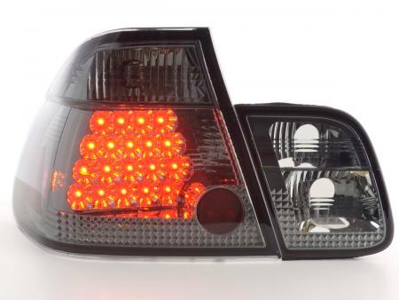 LED Rückleuchten Set BMW 3er Limousine Typ E46 Bj. 98-01 schwarz