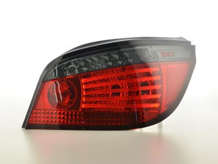 LED Lightbar Rückleuchten Set BMW 5er E60 Limousine Bj. 08-09 rot/schwarz