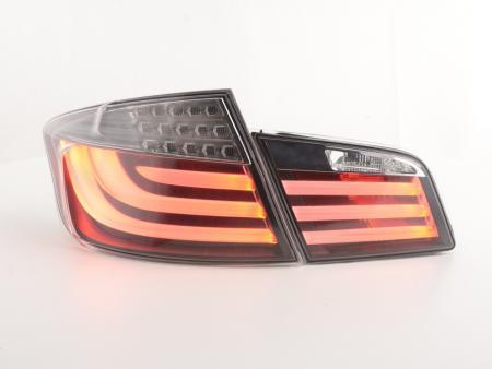 LED Lightbar Rückleuchten Set BMW 5er F10 Limo Bj. 2010-2012 chrom