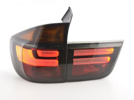 LED Lightbar Rückleuchten Heckleuchten Set BMW X5 E70 Bj. 06-10 schwarz