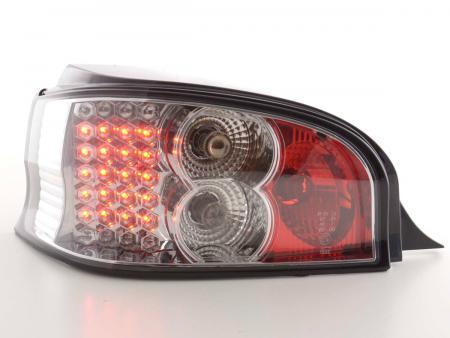 LED Rückleuchten Set Citroen Saxo Typ S/S HFX / S KFW  96-02 chrom