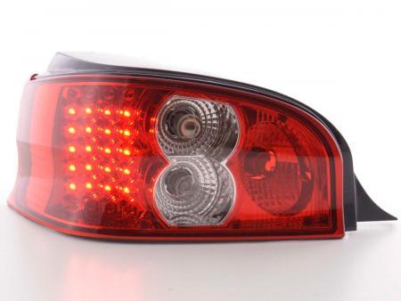 LED Rückleuchten Set Citroen Saxo Typ S/S HFX / S KFW  96-02 klar/rot