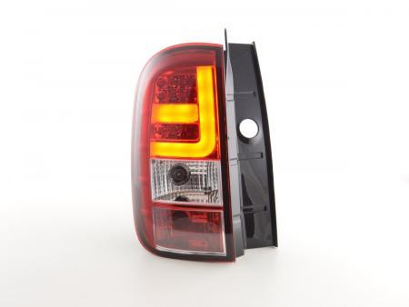 LED Rückleuchten Set Dacia Duster Bj. 10- rot/klar