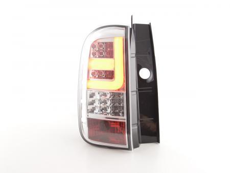 LED Rückleuchten Set Dacia Duster Bj. 10- chrom